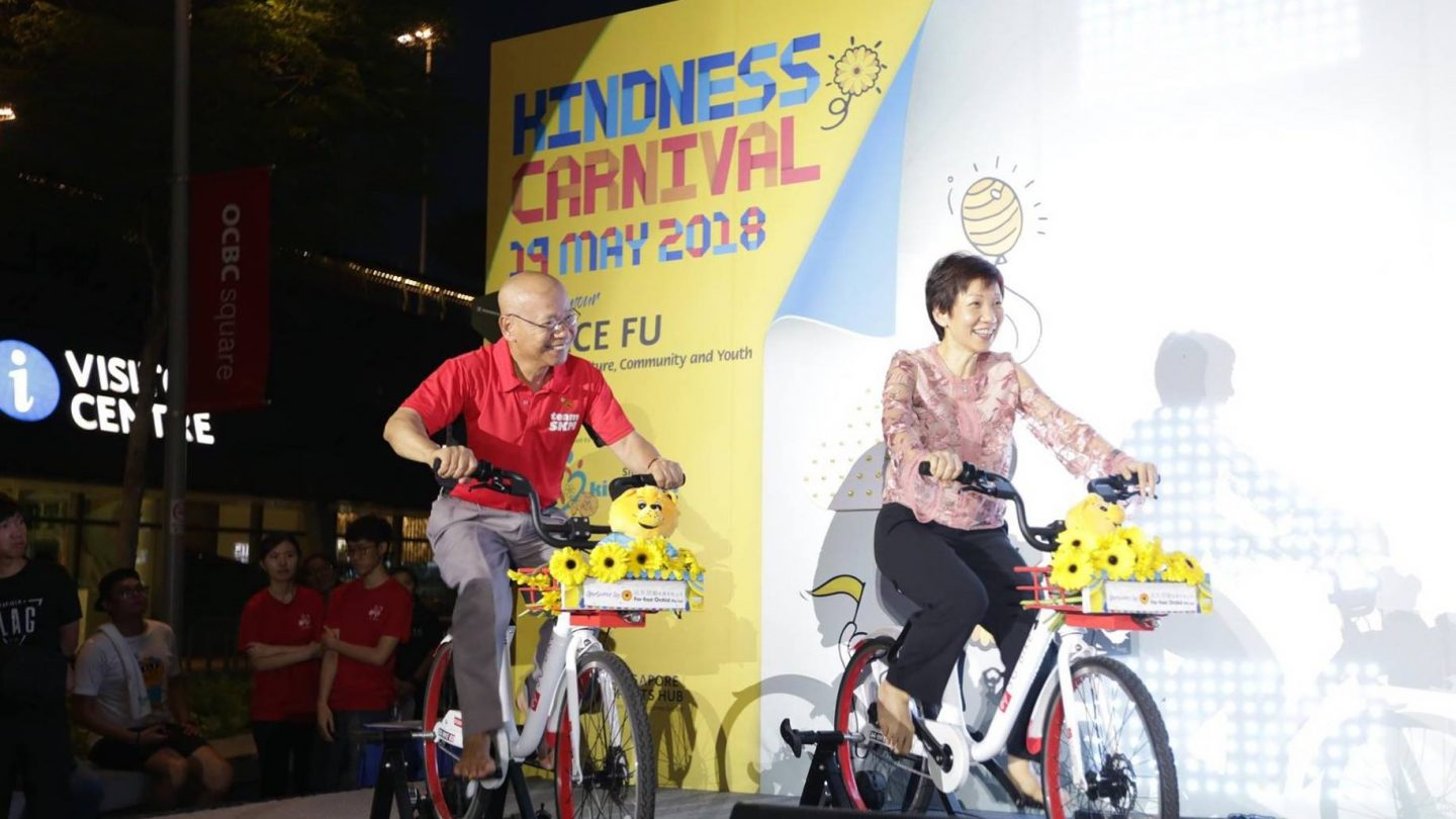 Kindness Day 2018 - opening of Kindness Carnival