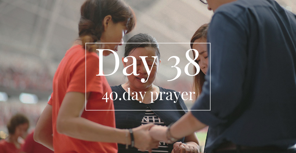40.day prayer day 38