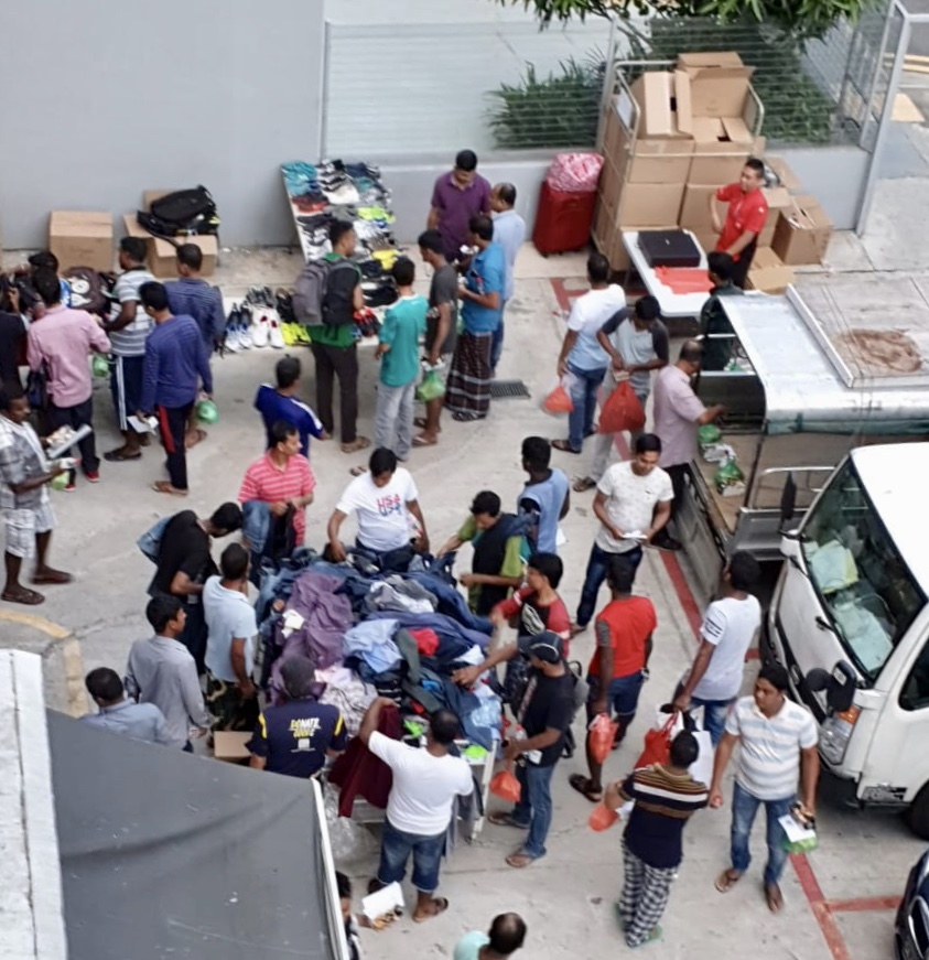 Some 300 migrant workers turned up for the opening of SG Care Welcome Centre. Eric Lee, its director, hopes the centre hopes will be a place where migrant workers can come to, to get much needed physical aftercare. Most of them do labour-intensive work, often suffering bodily strain and injury.