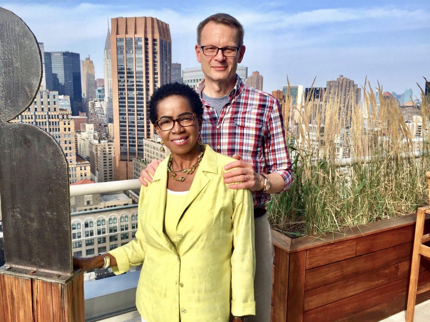 In March 2017, Francis relocated to Singapore with her husband. Photo of Judith Francis with her husband taken in New York City.