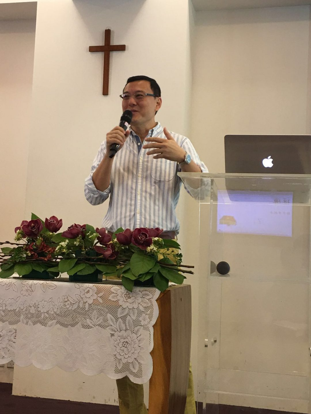 After Tay mustered up the courage to share his testimony at the pulpit, he realised that many others, too, were struggling with the same issues. Photo courtesy of Andrew Tay.