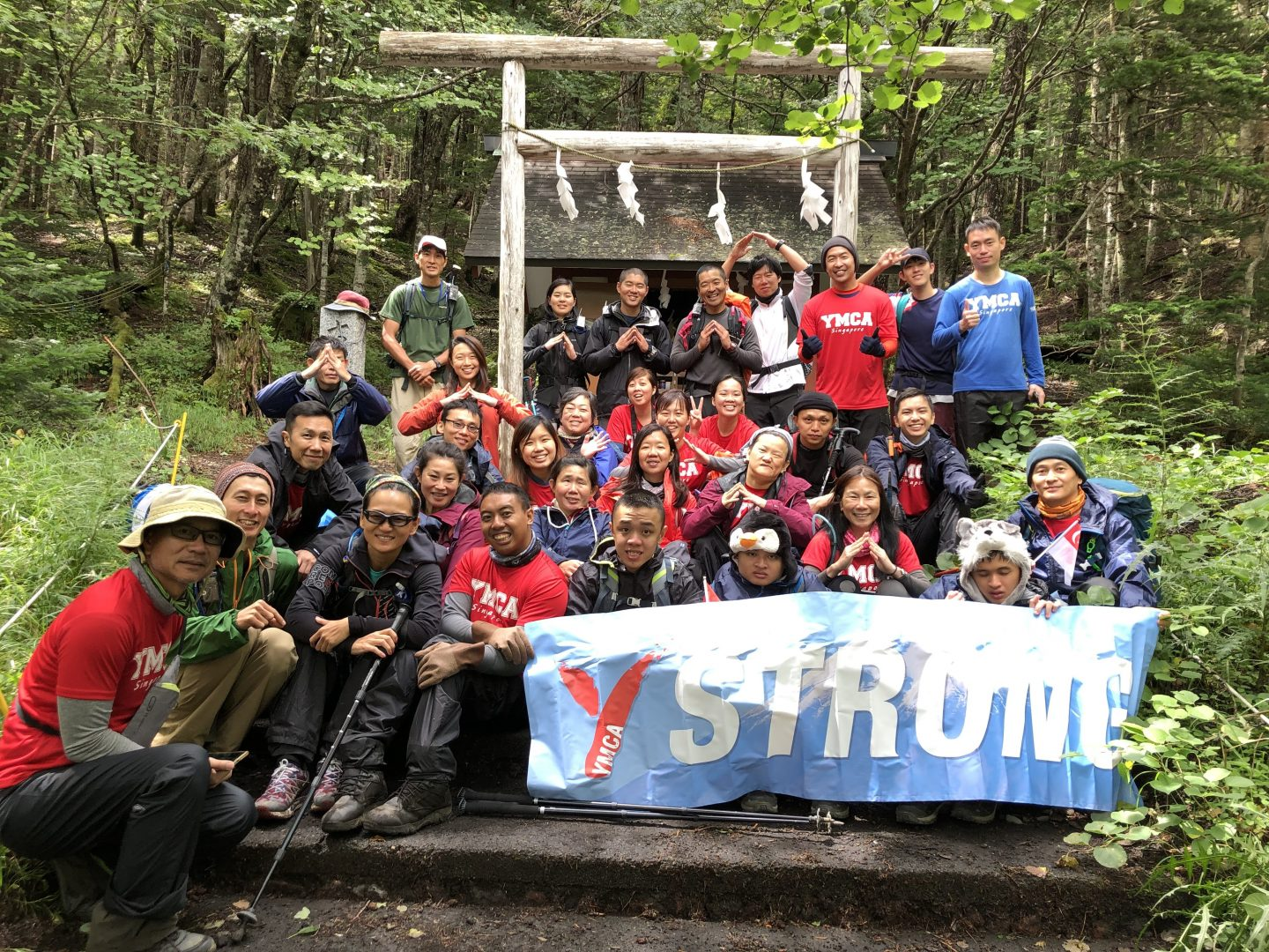 "With the help of 21 volunteers, 10 persons with special needs, including cerebral palsy, autism and visual impairment ascended Mount Fuji together last August. ""We wanted to show the world that these are not just people with disabilities but amazing people with abilities,"