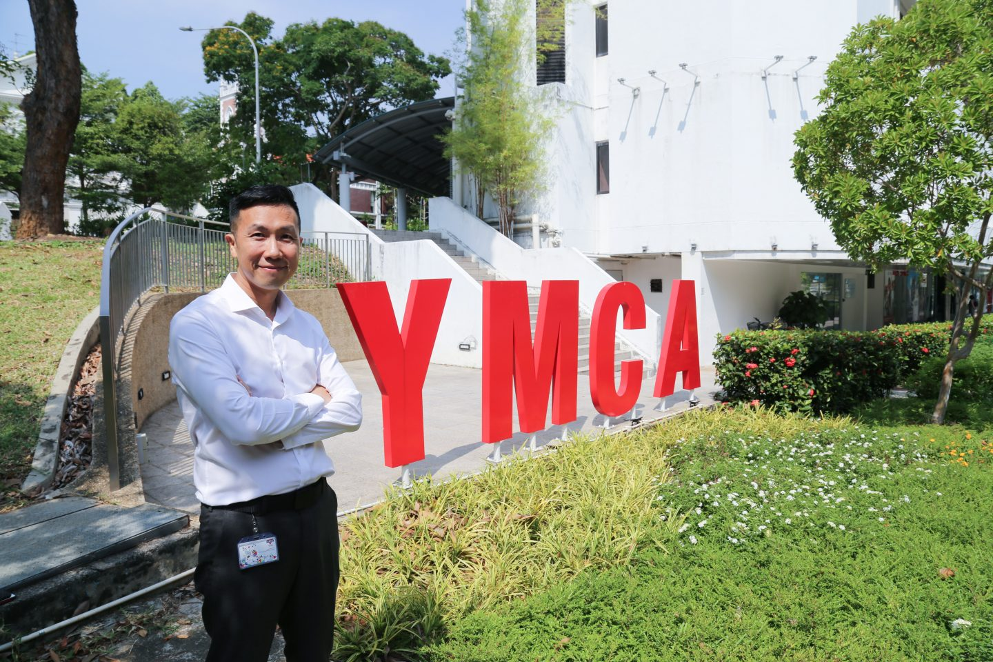 Since Steve began his role in YMCA in 2018, he is still learning how to represent the character of Christ in all he does as a CEO. Photo courtesy of YMCA.