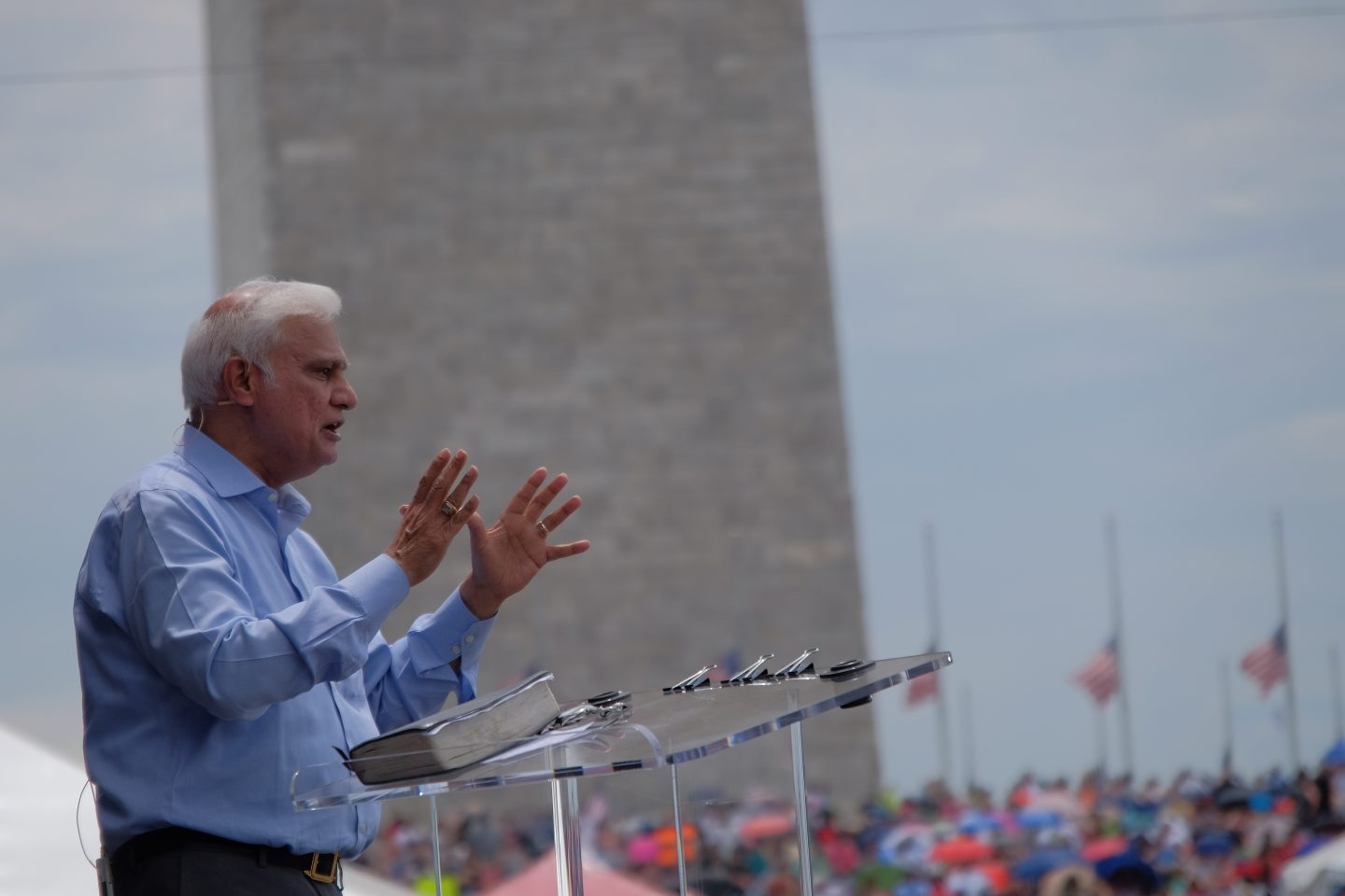 Ravi Zacharias in 2016. Photo by RZIM.