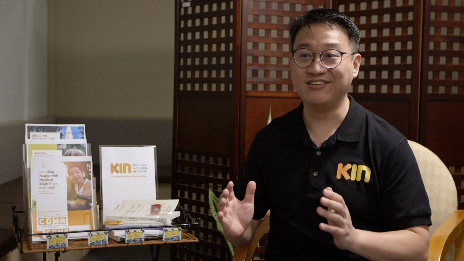 Koinonia Inclusion Network, or KIN, is built on the firm conviction that people with disabilities are not burdens or inconveniences, but valuable individuals who are integral to the Church, said president Leow Wen Pin. Photo courtesy of Leow Wen Pin.